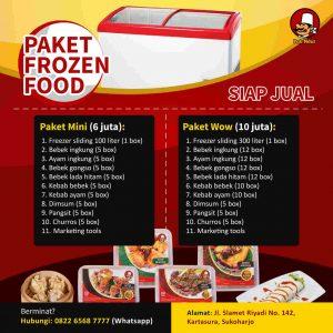 Reseller Frozen Food Pak Ndut Menguntungkan