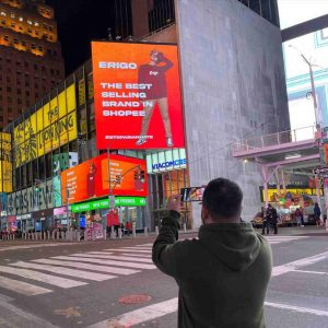 Brand Lokal di Times Square